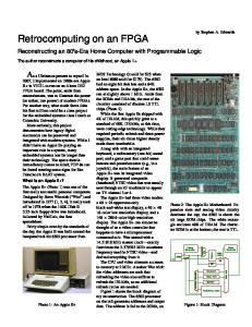 Retrocomputing on an FPGA