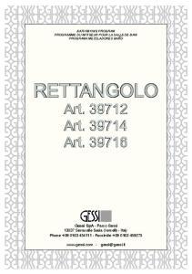 RETTANGOLO Art Art Art