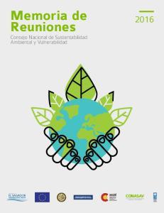 Reuniones. Consejo Nacional de Sustentabilidad Ambiental y Vulnerabilidad CONASAV. Consejo Nacional de Sustentabilidad Ambiental y Vulnerabilidad 1
