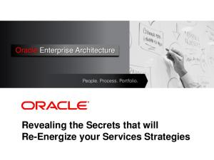Revealing the Secrets that will Re-Energize your Services Strategies
