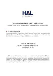 Reverse Engineering Web Configurators