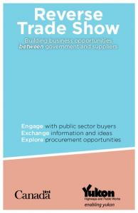 Reverse Trade Show Building business opportunities between government and suppliers