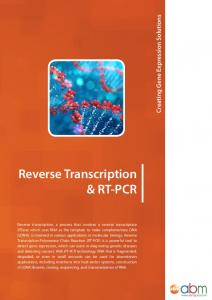 Reverse Transcription & RT-PCR. Creating Gene Expression Solutions
