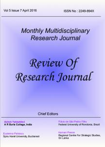 Review Of Research Journal