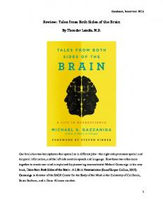Review: Tales from Both Sides of the Brain