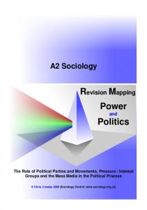 Revision Mapping Power and Politics