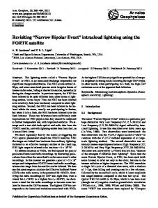 Revisiting Narrow Bipolar Event intracloud lightning using the FORTE satellite