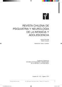 REVISTA CHILENA DE PSIQUIATRIA Y NEUROLOGIA