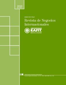 Revista de Negocios Internacionales