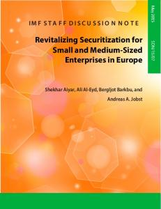 Revitalizing Securitization for Small and Medium-Sized Enterprises in Europe
