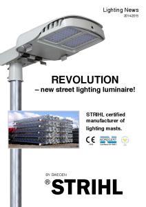REVOLUTION new street lighting luminaire!