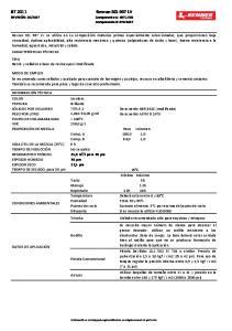 Revran SEL 997 LV Componente A: 997.LV01 Componente B: