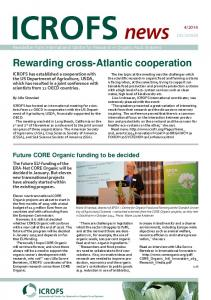 Rewarding cross-atlantic cooperation