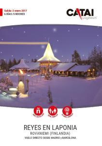 REYES EN LAPONIA ROVANIEMI (FINLANDIA)
