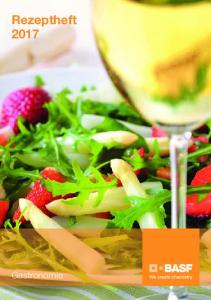 Rezeptheft Gastronomie