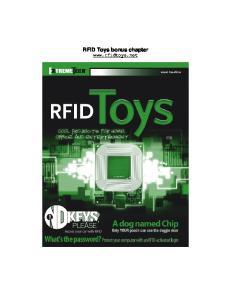 RFID Toys bonus chapter