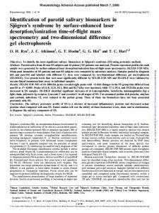 Rheumatology Advance Access published March 7, 2006