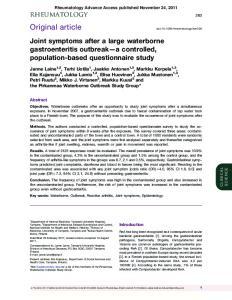 Rheumatology Advance Access published November 24, 2011
