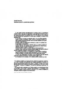 Ricardo Caracciolo Realismo moral vs. positivismo jurídico