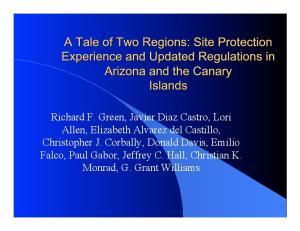 Richard F. Green, Javier Diaz Castro, Lori Allen, Elizabeth Alvarez del Castillo, Christopher J. Corbally, Donald Davis, Emilio Falco, Paul Gabor,