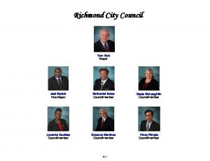 Richmond City Council