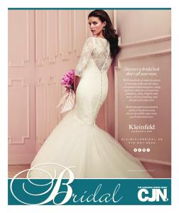 ridal Discover a bridal look that s all your own