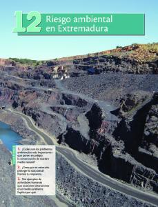 Riesgo ambiental en Extremadura
