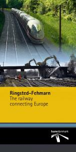 Ringsted-Fehmarn The railway connecting Europe