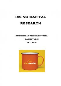 RISING CAPITAL RESEARCH