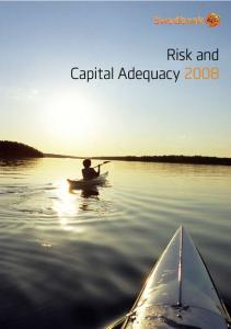 Risk and Capital Adequacy 2008