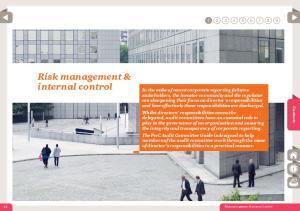 Risk management & internal control