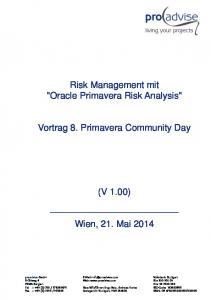 Risk Management mit