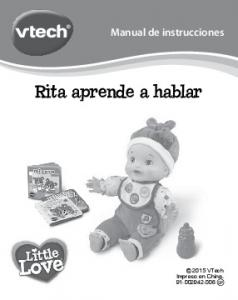 Rita aprende a hablar
