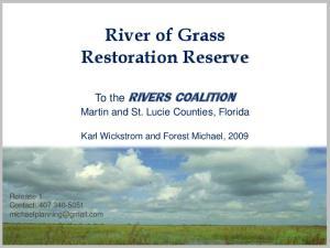River of Grass Restoration Reserve