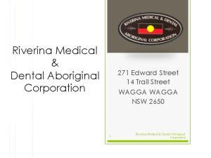 Riverina Medical & Dental Aboriginal