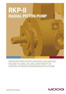 RKP-II. Radial Piston Pump