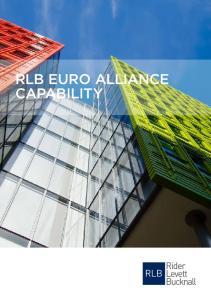 RLB EURO ALLIANCE CAPABILITY