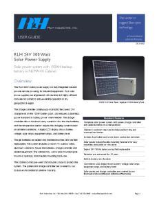 RLH 24V 300 Watt Solar Power Supply