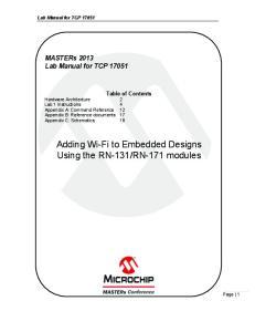 RN-171 modules
