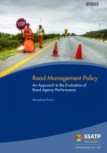 Road Management Policy