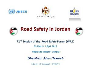 Road Safety in Jordan