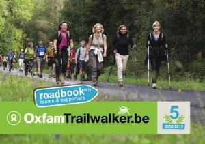 roadbook 2012 teams & supporters