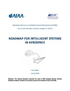 ROADMAP FOR INTELLIGENT SYSTEMS IN AEROSPACE