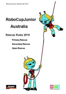 RoboCupJunior Australia