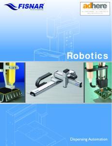 Robotics. Dispensing Automation