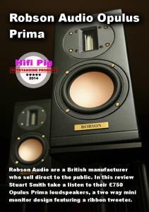 Robson Audio Opulus Prima