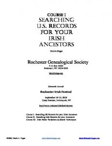Rochester Genealogical Society