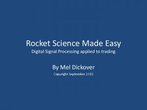 Rocket Science Made Easy