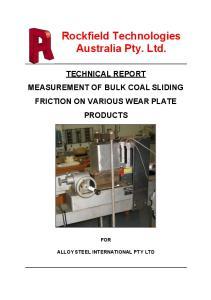 Rockfield Technologies Australia Pty. Ltd