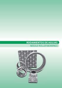 RODAMIENTOS DE AGUJAS NEEDLE ROLLER BEARINGS